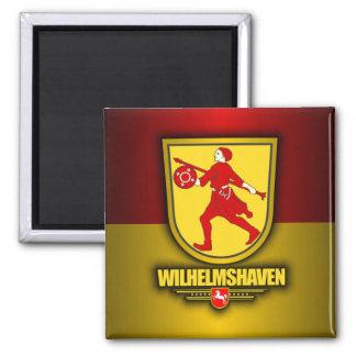 Wilhelmshaven Square Magnet