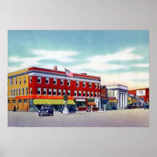 Wilkes Barre Pennsylvania Kingston Corners Poster
