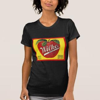 Wilko Brand Apples Vintage Label Tee Shirt