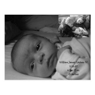 will 100, will 025, William James Lintner IV2.2... Postcard