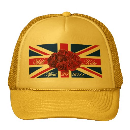 Will and Kate 2011 Limited Edition Commemorative Trucker Hats