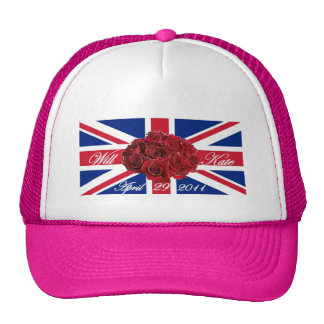 Will and Kate 2011 Limited Edition Commemorative Trucker Hat