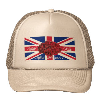 Will and Kate 2011 Limited Edition Commemorative Mesh Hats