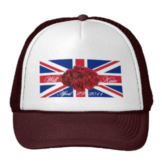 Will and Kate 2011 Limited Edition Commemorative Hats
