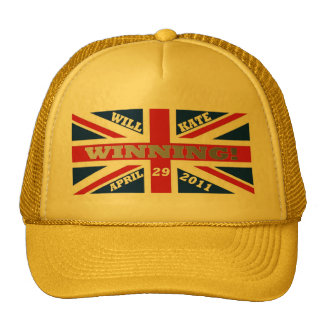 Will and Kate Winning Wedding Trucker Hats