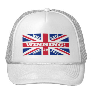 Will and Kate Winning Wedding Mesh Hats
