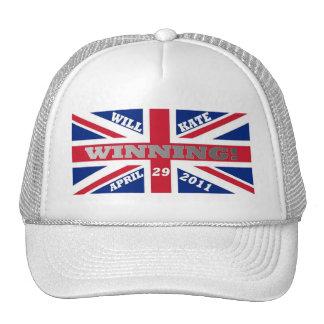 Will and Kate Winning Wedding Trucker Hats