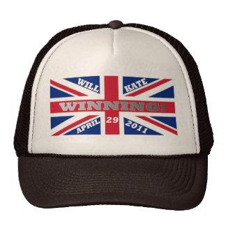 Will and Kate Winning Wedding Trucker Hat