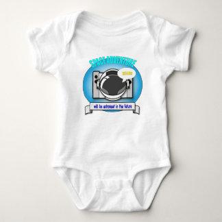 Will be astronaut baby bodysuit