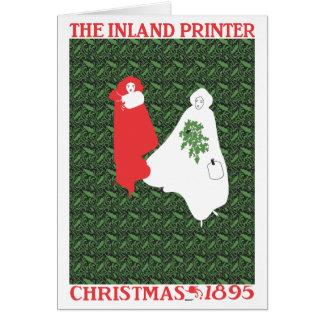 Will Bradley Christmas 1895 Card