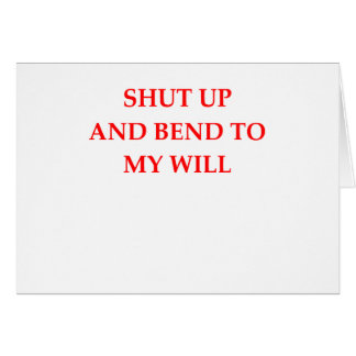 WILL CARD