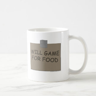Will Game For Food Mugs