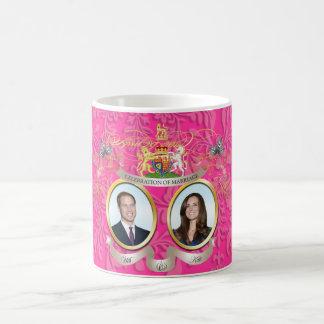 Will+Kate wedding DIY Color Mugs