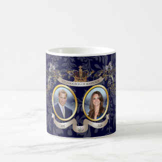 WILL+KATE WEDDING MEMORBILIA /DIY COLOR COFFEE MUG