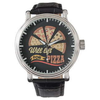 Will Lift For Pizza - Funny Novelty Workout Watch