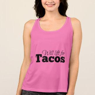Will lift for tacos singlet