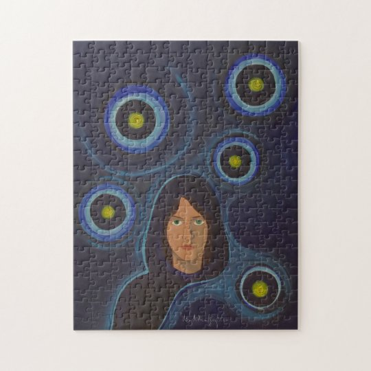 Will o' the Wisp 11x14 Puzzle with Gift Box