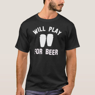 Will play the Conga for beer vector designs T-Shirt
