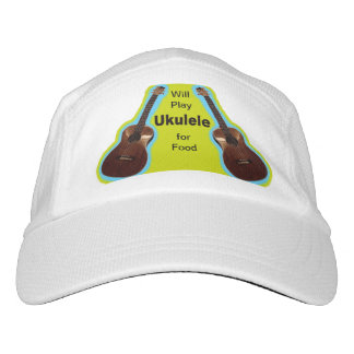 Will Play Ukulele for Food hat