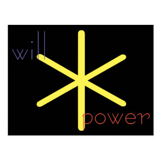 Will Power Postcard