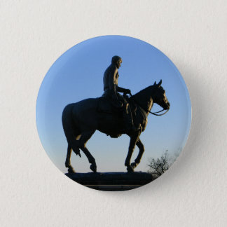 Will Rogers Into the Sunset 6 Cm Round Badge