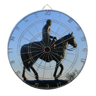 Will Rogers Into the Sunset Dartboard