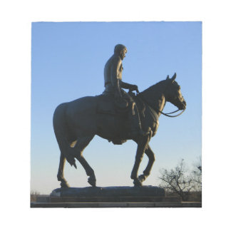 Will Rogers Into the Sunset Notepad