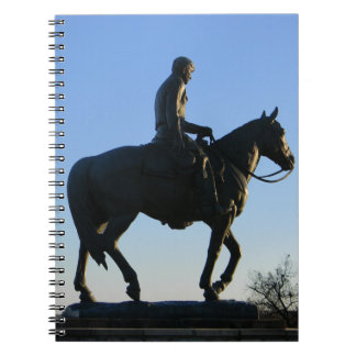 Will Rogers Into the Sunset Spiral Notebook