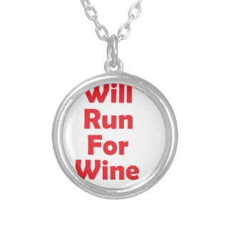 Will run for wine- red jewelry