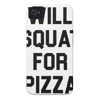 Will Squat for Pizza iPhone 4 Case