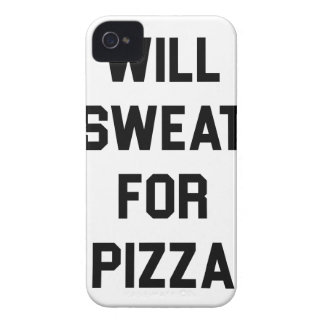 Will Sweat for PIzza iPhone 4 Case