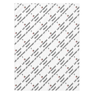 WILL THE LAST BE THE APPLE TREES? - Word games Tablecloth