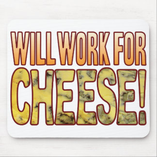 Will Work Blue Cheese Mouse Pad