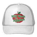 Will Work for Apples Mesh Hats