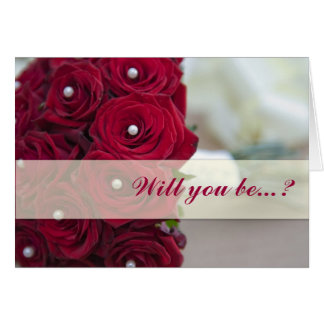 Will you be...? card