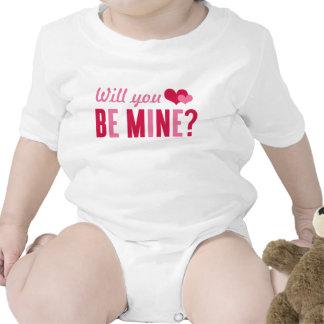 Will you be mine?   Valentine's Day Bodysuit