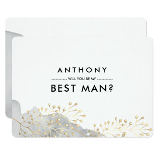 Will you be my Best Man? Custom Invitations