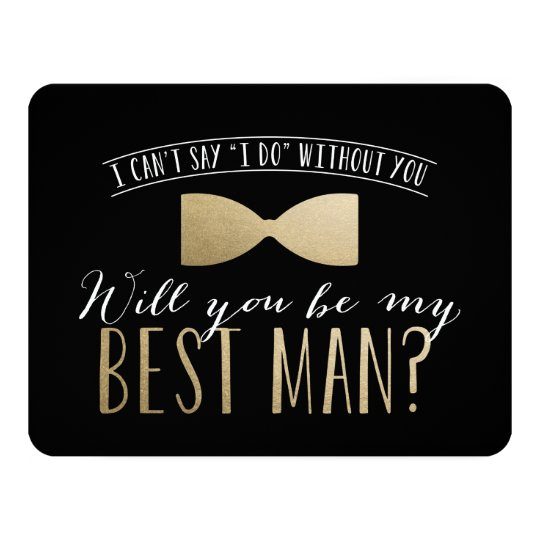 Will you be my best man groomsmen card zazzle will you be my best man groomsmen card junglespirit Images