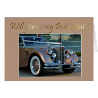 Will you be my Bestman Card