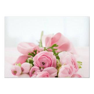 "Will you be my Bridesmaid Bouquet Invitation 4.5"" X 6.25"" Invitation Card"