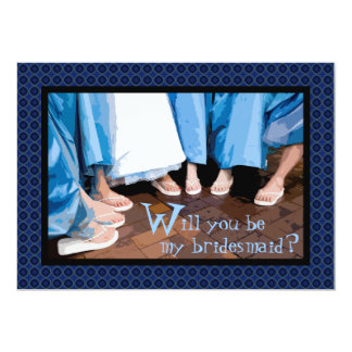 Will You Be My Bridesmaid? Bridesmaids Photo Card