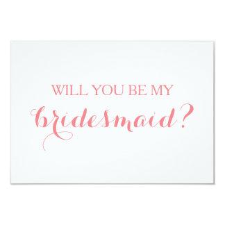 Will You Be My Bridesmaid Card Bridal Party Card