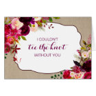 Will you be my Bridesmaid Matron of honour 3979 Card