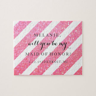 Will You Be My Bridesmaid-MOH Puzzle - Diagonal