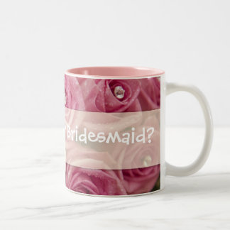 Will you be my Bridesmaid? Two-Tone Coffee Mug