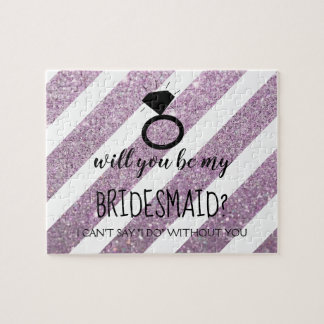 Will You Be My Bridesmaid Puzzle - Your Ring Pur