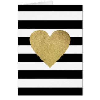 Will You Be My Bridesmaid? | Striped w/ Heart Greeting Card