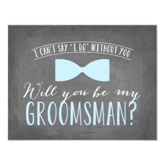 Will you be my Groomsman ? | Groomsmen Card