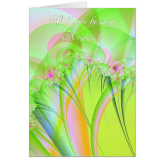 Will You Be My Hostess? Card