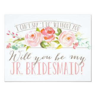 Will You Be My Junior Bridesmaid | Bridesmaid Card